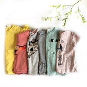 🐘 H&M 6 Short Sleeve Shirt Bundle